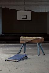 (maxelmann) Tags: school abandoned lost decay empty leer forgotten pferd tristesse verlassen urbex turnen verfall marode vergessen sporthalle lostplaces sportfrei mädchenpensionat maxelmann