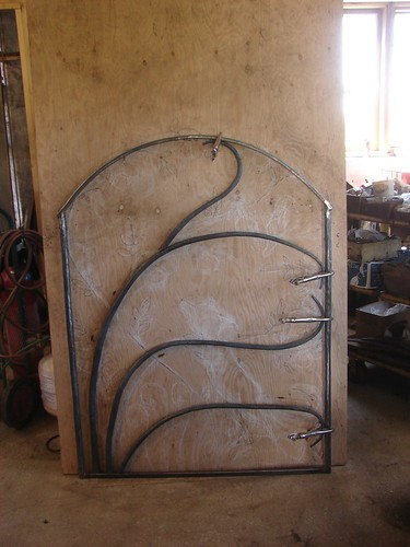 """Rose vines shaped and clamped • <a style=""""font-size:0.8em;"""" href=""""http://www.flickr.com/photos/35386275@N08/14420874262/"""" target=""""_blank"""">View on Flickr</a>"""