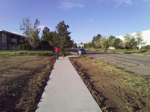 Photo - 6560 Spine Road Missing Sidewalk Link (After)