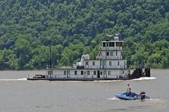 DANNY McBRIDE (Joe Schneid) Tags: kentucky transportation louisville towboat inlandwaterway inlandwaterways americanwaterways dannymcbride ohiorivermile619 mcbridetowing