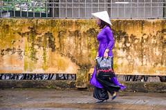 Fashionable Lady Hue (Howie44) Tags: vietnam hue