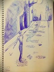 """20 Days """"Anxiety..."""" #draw #sketch #dream #love #calendar #desenho #bic #Anxiety #Ansiedade #pensamento #frase (F.Prado_ART) Tags: love sketch calendar dream draw desenho anxiety bic pensamento frase ansiedade"""