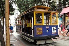 Cable car, Powell street, San Francisco, CA, USA (SETIANI LEON) Tags: sanfrancisco california ca street usa car canon eos san francisco unitedstates united cable 7d powell states unis californie etatsunis etats