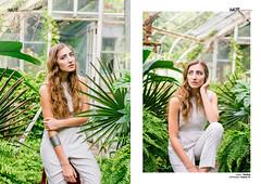 Urban Jungle - iMute and Giuseppina Magazine (Haley Tetreault) Tags: atlanta light white black fashion magazine model models trends greenhouse agency tropical click shorts simple minimalistic mag guiseppina imute