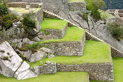 Machu Picchu green perfection (vittorio vida) Tags: green peru machupicchu travel onca architecture buildings walls stones landscape mergeb 50