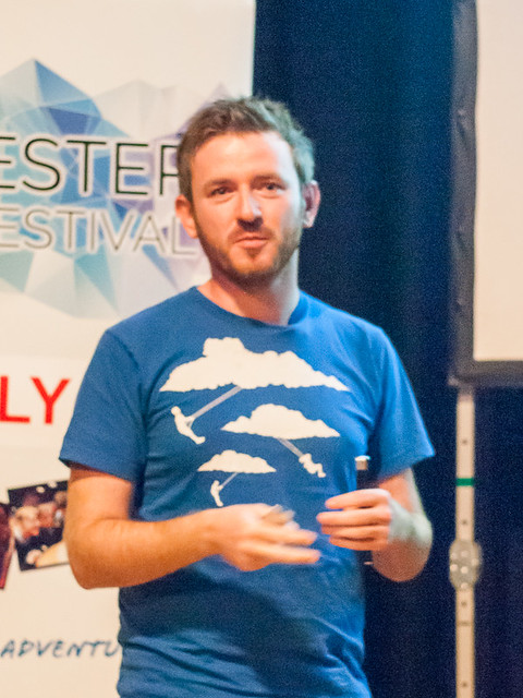 Myles Power at Winchester Skeptics 2014-06-26
