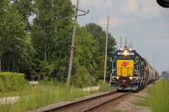 Alton&Southern drag a freight, (Machme92) Tags: railroad usa up union rail trains row rails ge railyard railfan railroads units railroading emd railfanning railfans geeps unionpacifc