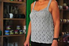 Knitting is the Art I love (sifis) Tags: art shopping nikon knitting tank top quality silk athens yarn greece lang 2470 sifis sakalak woolshop mallia d700