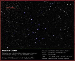 "Brocchi's Cluster (Lee ""Pulitzer"" Pullen) Tags: bristol astrophotography astrophoto lightpollution eq3 vulpecula thecoathanger amateurastronomy brocchiscluster smalltelescope ngc6802 nikond700 amateurastrophotography cityastrophotography 102mmrefractor skywatcherst102 cityastronomy smallrefractor skywatchereq3pro"