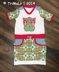 Longshirt Sunje (TriMaLo #IndiWieDuelles {Web:Design;}) Tags: shirt woodpecker frau bienvenido claudi colorido sunje longshirt tunika liebstes kibadoo