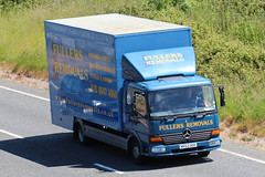 MK52UGH - Fullers Removals (TT TRUCK PHOTOS) Tags: mercedes tt removals bourton a303