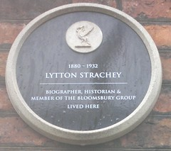 "City of Liverpool Heritage Plaque Lytton Strachey Residence • <a style=""font-size:0.8em;"" href=""http://www.flickr.com/photos/9840291@N03/14652973999/"" target=""_blank"">View on Flickr</a>"