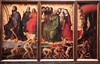 Il Polittico del Giudizio universale è un'opera di Rogier van der Weyden, olio su tavola (215×560 cm), databile al 1443-1451. È composto da nove pannelli, una parte mobili per chiudere la parte centrale, e conservato nell'Hôtel-Dieu di Beaune. (Wikipedia) (Renato Morselli) Tags: old france art arte 1975 francia olio tavola belgio rogiervanderweyden religione pittura universale hôteldieu giudizio pannelli tavole