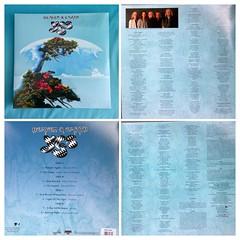 Heaven & Earth blue vinyl - sleeve  Inside & outside (Hipstagirl 2011) Tags: music art album yes band sleeve alanwhite progrock rogerdean stevehowe bluevinyl chrissquire geoffdownes heavenearth jondavison