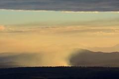 smoke at Beaudesert (dustaway) Tags: landscape countryside sundown smoke australia queensland australianlandscape lateafternoon burnoff beaudesert sequeensland loganvalley albertva