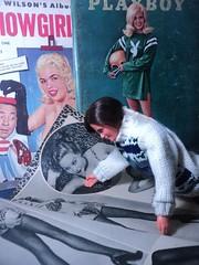 What's her number? (doll4life14) Tags: boyfriend vintage magazine hair mod ken barbie hairdo retro tutorial