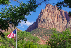 Zion National Park 1 (D.Spence Photography) Tags: trees summer vacation usa mountains nature utah sandstone pentax exploring canyon zionnationalpark redrock tamron k5
