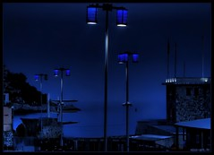 nerrazzuri lampioni hd (nice-art) Tags: blue frenchriviera sescape