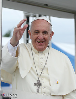 Pope Francis ... the smiling pope