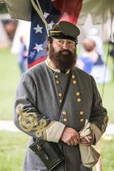 23 Aug 2014. Manassas, VA. There Stands Jackson Like a Stonewall Impersonator (The UberSteve) Tags: costumes civilwar manassas personalfavorites oldtownmanassas canon5dmkiii