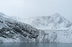 Zicht op besneeuwde Adamello vanaf Rifugio Garibaldi (Inklaar) Tags: sneeuw val fujifilm bergen alpen itali adamello nkbv x100 camonica bsk tem lombardije bergsportkamp adamellopresanella inklaar:see=all adamellogroep