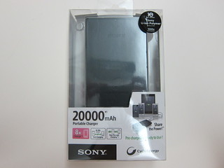 Sony CP-B20 20000mAh USB Portable Charger