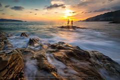 GNS_6775_rs (KRW_GNS) Tags: ocean blue sunset sea sky beach nature water rock sunrise landscape thailand puerto island bay coast sand background wave maui rico creation phuket koh
