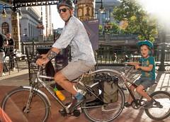 Biking the downtown 8.23.14 (Photo by Jen Bonin)