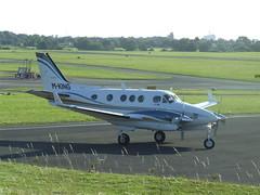 M-KING Beech C90B (Aircaft @ Gloucestershire Airport By James) Tags: james airport gloucestershire beech lloyds mking c90b egbj