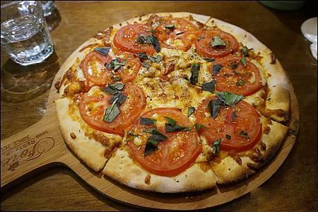 義式經典瑪格莉特皇后披薩190
