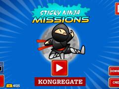 黏黏忍者任務(Sticky Ninja Missions)
