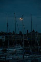 The Super Moon (aixcracker) Tags: summer moon suomi finland evening nikon august d3 porvoo kuu ilta sommar kes mne 80200mm augusti borg kvll elokuu