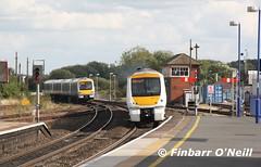 Banbury (finnyus) Tags: uk greatbritain train unitedkingdom britain rail railway trains gb british railways banbury ch 2014 chilternrailways class168 168110 finbarroneill finnyus 1g52 1h71