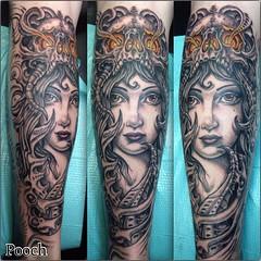 #gypsymech #biomech #blackandgrey #tattoo #skulltattoo #pooch_art #alteredstatetattoo