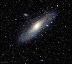 Andromeda Galaxy (The Dark Side Observatory) Tags: summer sky night canon stars star timelapse darkness time andromeda galaxy astrophotography m31 astronomy nightsky messier astronomer 2014 400mm andromedagalaxy canon6d ioptron tomwildoner