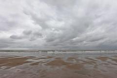 knokke heist - belgium - 3 (hors-saison) Tags: ocean sea beach rain clouds dark belgium belgique pluie northsea knokke nuages plage heist belge