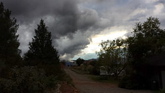 Weather or not (twm1340) Tags: arizona storm clouds samsung az galaxy rv aug motorhome s4 2014 verdevalley