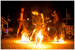 Bike Punks Show @ Tattoo Circus (Libertinus) Tags: berlin bike punk raw bicicleta punx 6d subculture bikepunks bethanien subcultura bikepunk tamron2470 tattoocircus