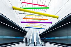 Lines (Philipp Gtze) Tags: architecture leipzig ubahn citytunnel