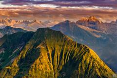 : : : A B S O L U T I O N : : : (gregor H) Tags: sunset mountain alps austria sterreich peak hike ridge highup vorarlberg schoppernau didamskopf bregenzwerwald