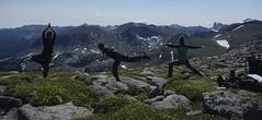 Yoga at 12,000 Feet