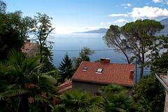 Adriatic view (maiktheknife) Tags: ocean sea summer holiday clouds sommer urlaub wolken adriatic adria mediteranian bucht kroatien mittelmeer kvarner