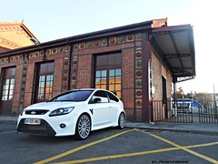 "Ford Focus RS (DimitriAlbert ph"" Auto"" Graphy) Tags: white cars ford car sport de nikon focus gare da coolpix blanche rs supercar carmaux sportive focusrs hypercar worldcars phautography s3300"
