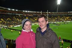 Westpac Stadium - fin du match All Blacks vs Springboks