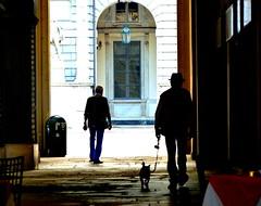 (Ccile Pommeron) Tags: city colors torino silhouettes turin italie citta