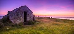 le poste (fubu.flemm) Tags: mer france bretagne côte crépuscule garde coucherdesoleil océan argenton borddemer postedegarde gardecôte
