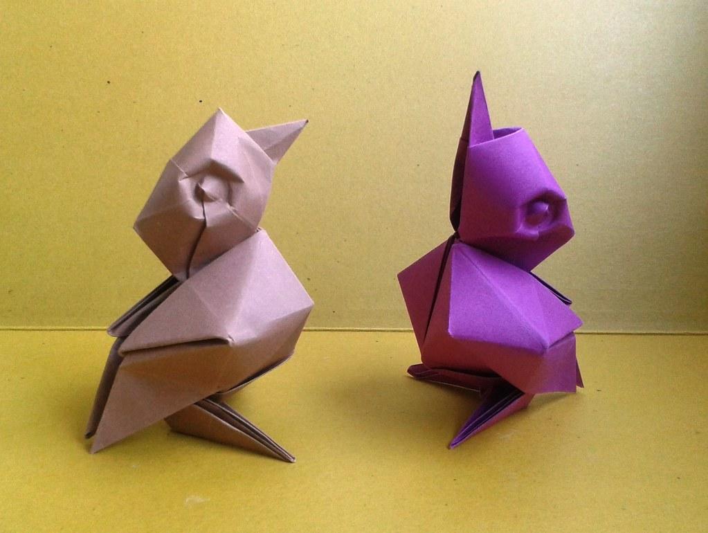 The worlds best photos by davor vinko origami flickr hive mind birdie davor vinko origami tags baby bird birdie paper 3d origami folding davor jeuxipadfo Choice Image