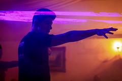 Laser head (Alejo M - Estudio 209) Tags: party night lights luces noche dance fiesta performance dancer laser baile