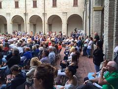 """Sabato 20 giugno- Il pubblico assiste alla presentazione del libro di Lorenzo Salvia 'Resort Italia' • <a style=""""font-size:0.8em;"""" href=""""http://www.flickr.com/photos/132467718@N05/18475310714/"""" target=""""_blank"""">View on Flickr</a>"""