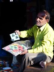 Kite Seller (lucknowtrainman) Tags: portrait kite shopkeeper gujarat kutch streetphotography streetshot